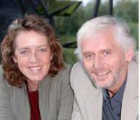 Andrea Luijten en Harry Vos