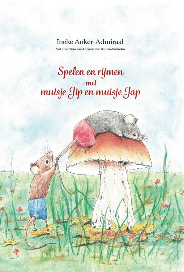 Cover boek Spelen en rijmen met muisje Jip en muisje Jap